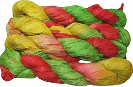 100g Sari SILK Ribbon Art Yarn Christmas