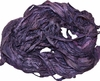 100g Sari SILK Ribbon Yarn Dark Purple