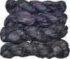 100g Sari SILK Ribbon Art Yarn Dim Grey Purple