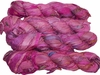 100g Sari SILK Ribbon Art Yarn Magenta Pink