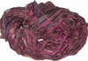 Sari SILK 100g Ribbon Yarn Maroon Multi