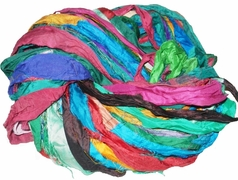 Sari SILK 100g Ribbon Yarn Multi