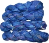 100g Sari SILK Ribbon Art Yarn Parade Blue