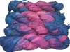 100g Sari SILK Ribbon Art Yarn Pink Garden