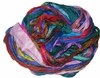 Sari SILK 100g Ribbon Yarn Purple Multi