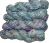 100g Sari SILK Ribbon Art Yarn Sea Green