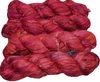 100g Sari SILK Ribbon Art Yarn Strawberry