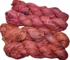 100g Sari SILK Ribbon Art Yarn Terracotta