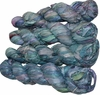 100g Sari SILK Ribbon Art Yarn Surf Blue