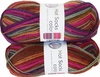 100g GERMAN Silky Self Striping SuperWash SOCK Yarn Hot Color Grundl 415