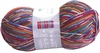 100g GERMAN Silky Self Striping SuperWash SOCK Yarn Rubin Grundl 07