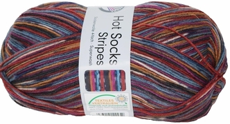 100g GERMAN Self Striping SuperWash SOCK Yarn Stripes Grundl 619