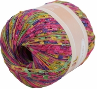 TWINKLY GLITZ Trail Ladder Trellis Yarn 150 yards, Color 907