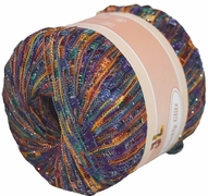 TWINKLY GLITZ Trail Ladder Trellis Yarn 150 yards, Color 910