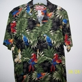 RJC BlkGrn Tropical Shirt