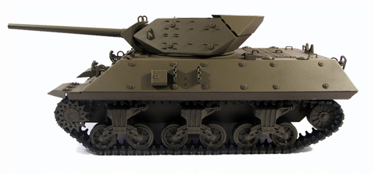 1/16 Scale WWII America M10 Tank Destroyer Full Metal RC Tank
