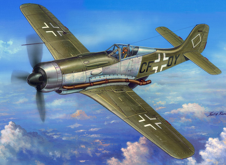 1/48 Scale Model Hobby Boss 81747 FW 190 V18 High-Altitude
