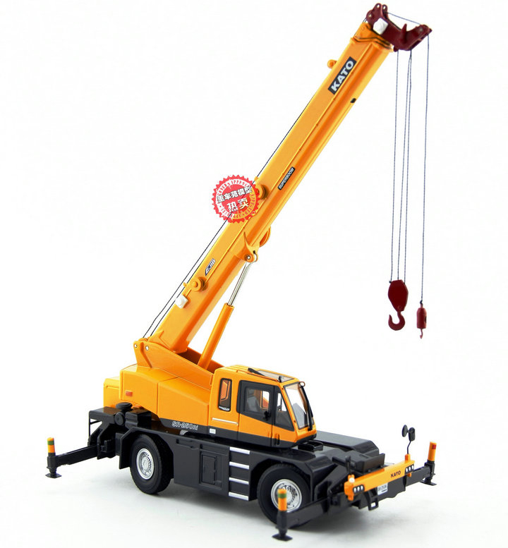 1 50 scale model kato sr 250ri 25 tons rough terrain crane diecast model zinc alloy model toy for Terrain construction