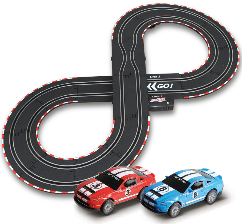 Carrera and Scalextric's slot race car sets for adults and children have emerged on top of the pack because of their quality.All slot car racing sets come complete with everything necessary to begin racing out of the box and can be assembled without the use of tools.