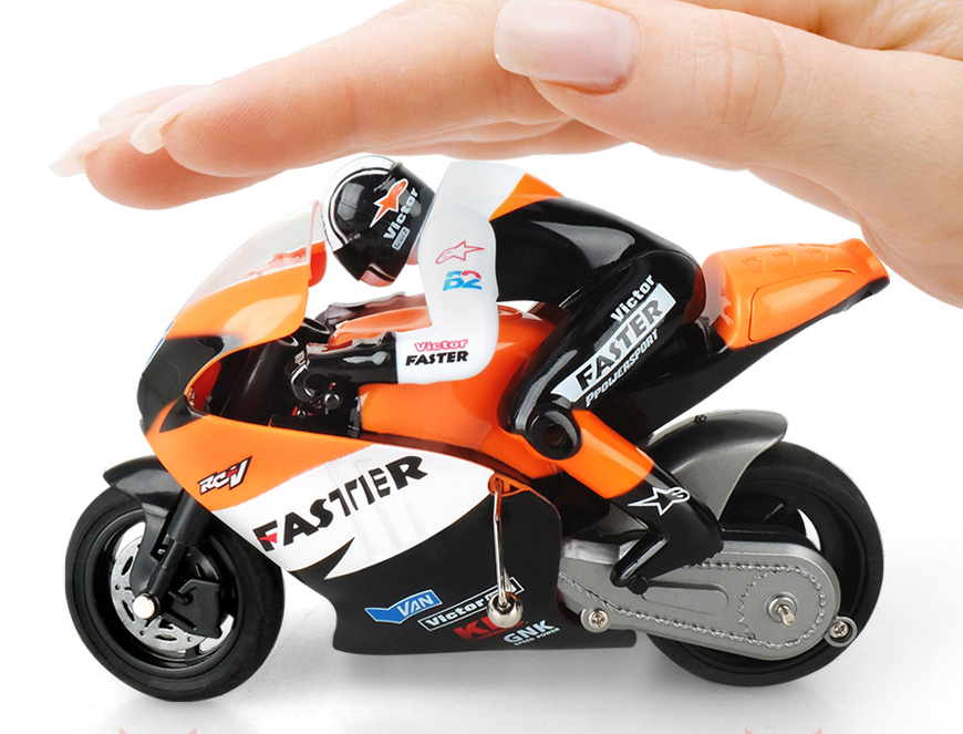 1/10 Scale models, RC high-speed motorcycle model Toy, kids toys ...