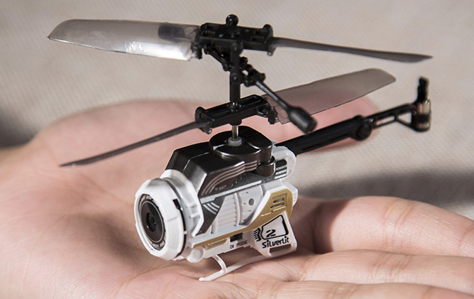 Silverlit Toys Nano Mini Spy Rc Helicopter Camera Remote Control Helicopter