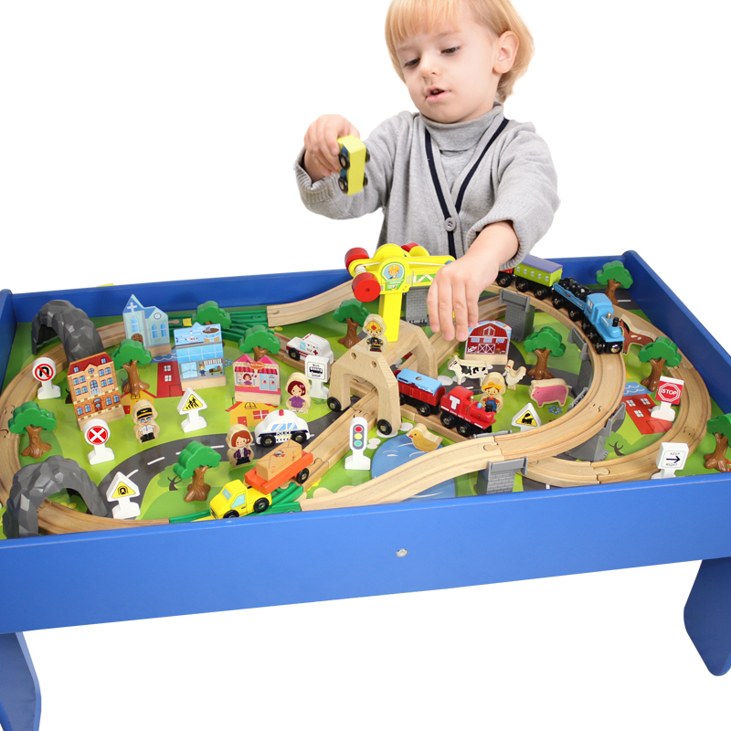 Thomas And Friends Wooden Toy Train Play Set With Wooden
