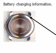 Battery and parts info