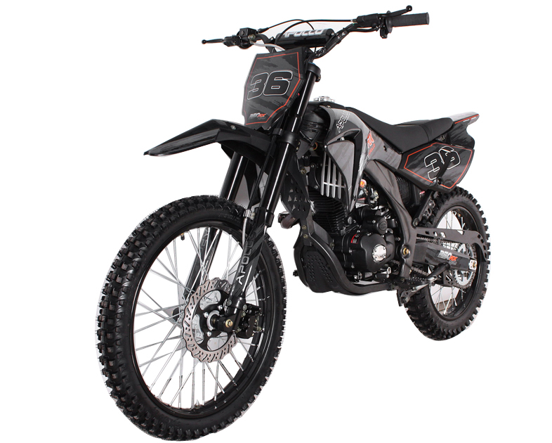 apollo 250cc 4 speed deluxe dirt bike agb 36 fast free. Black Bedroom Furniture Sets. Home Design Ideas
