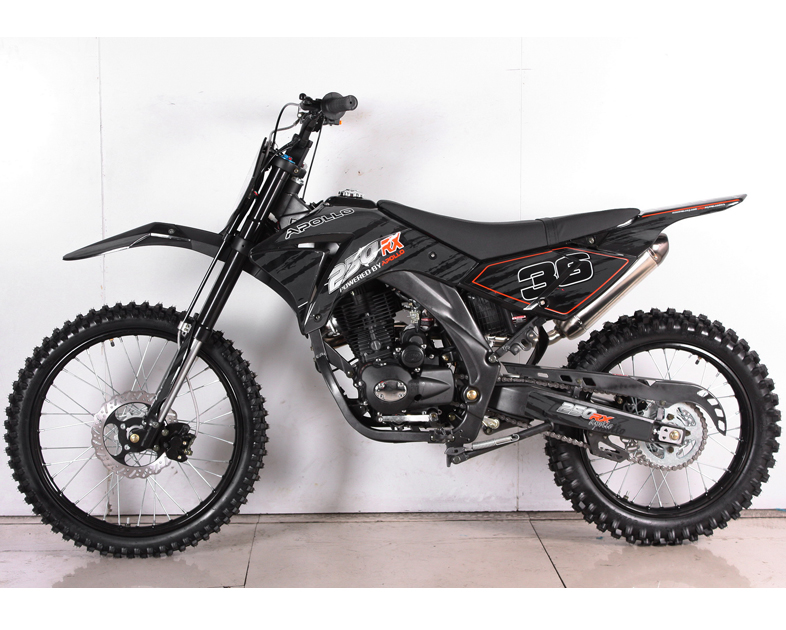 Apollo 250cc 5 Speed Deluxe Dirt Bike