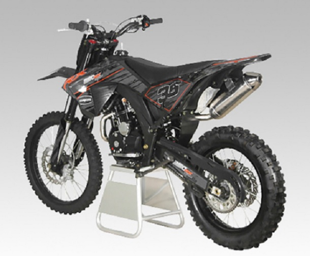 APOLLO 250cc 4-SPEED DELUXE DIRT BIKE  AGB-36 FAST FREE