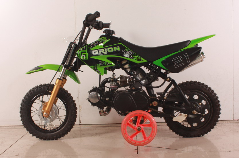 d0eeea62062 APOLLO/ ORION 70cc Semi-Auto Pit/Dirt Bike Kids Model with TRAINING WHEELS