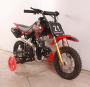 APOLLO/ ORION 70cc Semi-Auto Pit/Dirt Bike Kids Model with TRAINING WHEELS SEMI-AUTO -