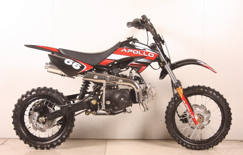 Apollo Orion Deluxe Cc Dirt Pit Bike Semi Automatic Free Shipping Free Gloves Free Goggles Free Gear Bag Best Quality Bike on 110cc Pocket Bike
