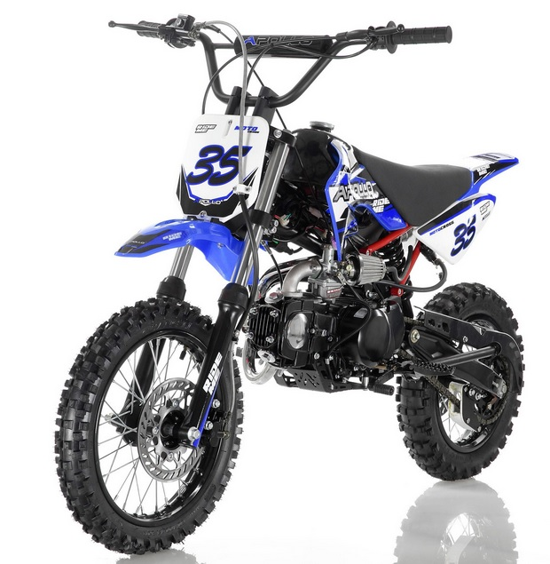 apollo orion lsh 125cc 4 speed pit dirt bike. Black Bedroom Furniture Sets. Home Design Ideas