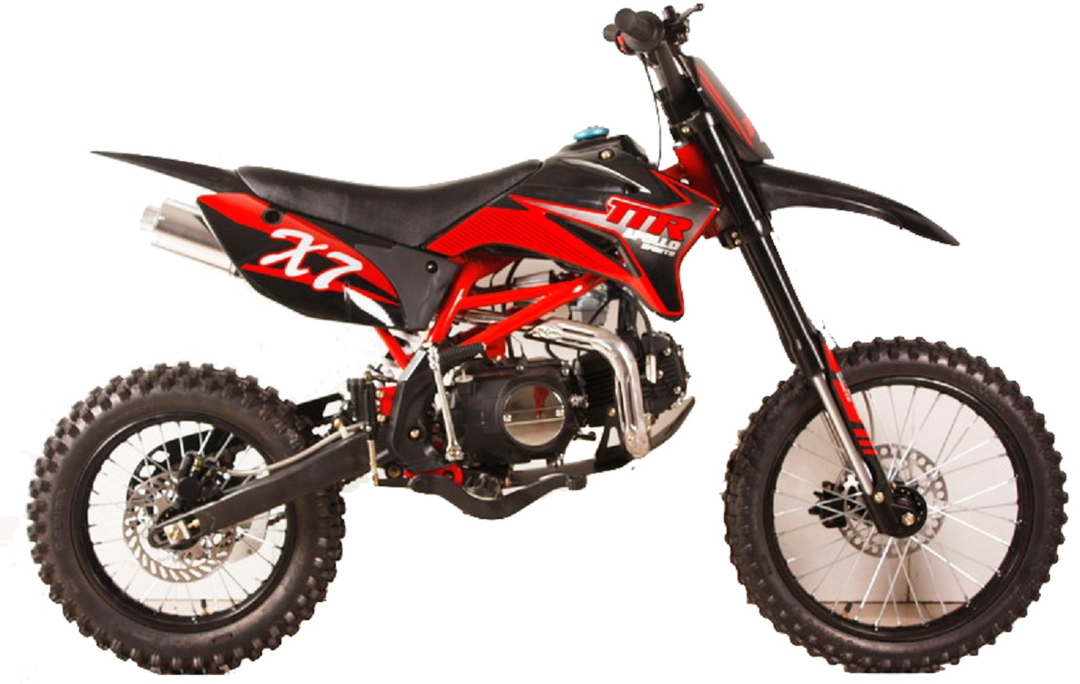 apollo dirt bike 125cc over size with 17 tire twin spar. Black Bedroom Furniture Sets. Home Design Ideas