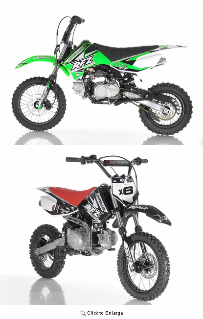 apollo x-6 fully automatic dirt bike