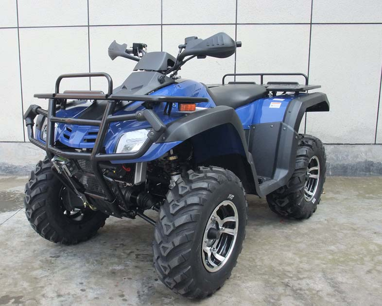 Atv 500 4x4 kymoto 550cc fuel injected automatic for Yamaha grizzly 1000cc