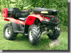ATV Storage Boxes - Accessories - Baskets - Bags