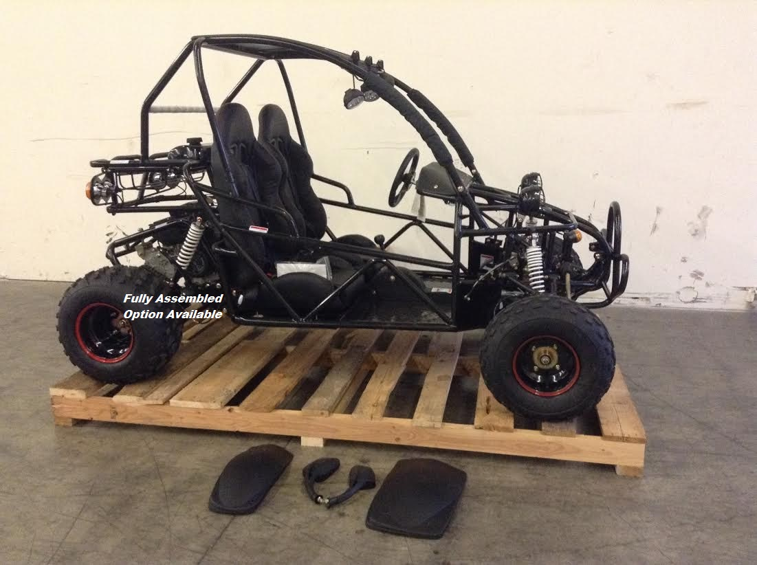 BMS Sand Sniper 150 - Deluxe Buggy - Automatic - Rugged Suspension