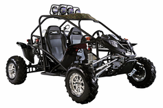 BMS Cherry Bomb Deluxe 600cc Dune Buggy - EFI Fuel Injected -5-speed - Dual Twin Engine -