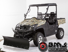 BMS V-Twin 800cc Side by Side UTV - New 44-hp Fuel Injected - Extreme Durability & Stability- KartQuest.com