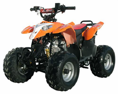 "LANCER ATV/Quad Sport Polaris Style 4-Wheeler -7"" OversizeTires. 110cc -"
