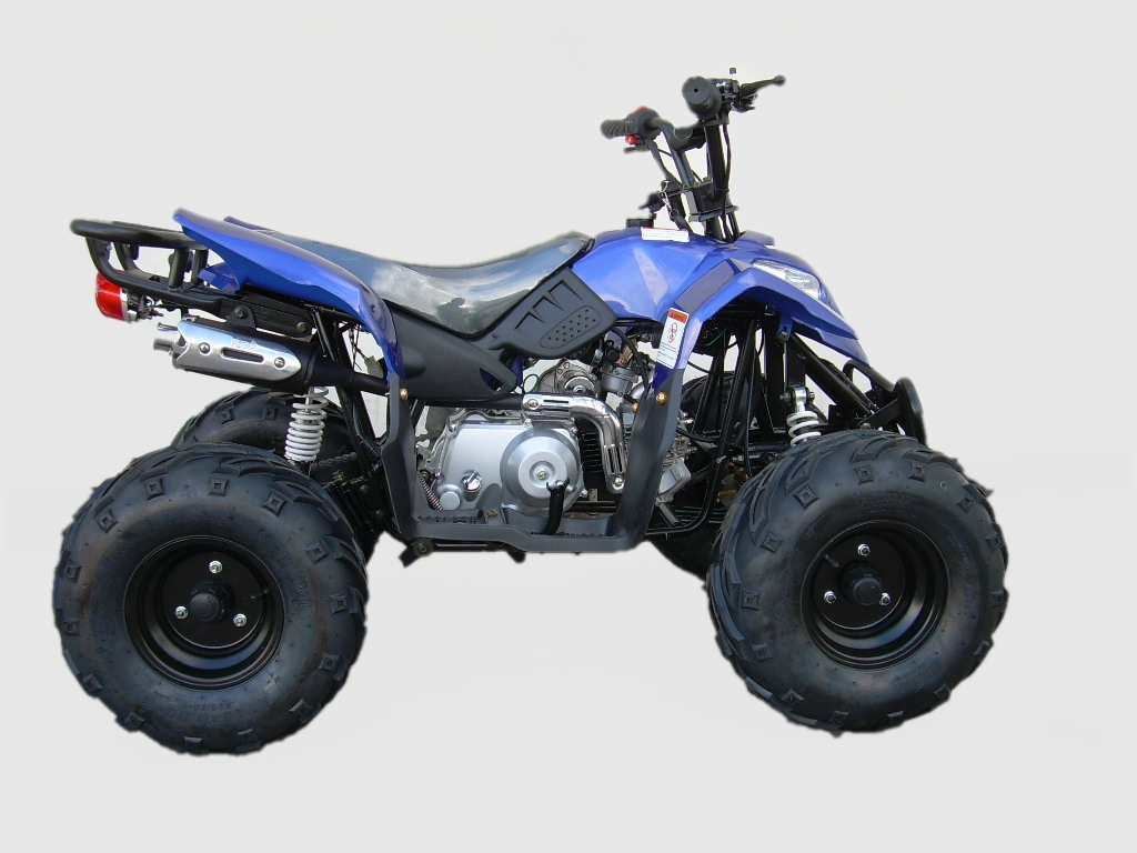 Coolster 3050c 110cc Youth Quad Atv With Rack Fully