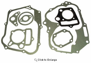 CYCLE CHINESE PARTS - 110CC HORIZONTAL ENGINES COMPLETE