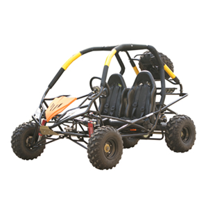 High Rev Power 150 GO CART with CVT TRANSMISSION - Roll Cage