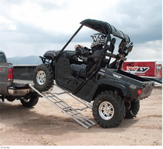 Fly Racing ADJUSTABLE FOLDING ATV / CYCLE RAMP - Offroad - Lowest Price Guaranteed! FREE SHIPPING