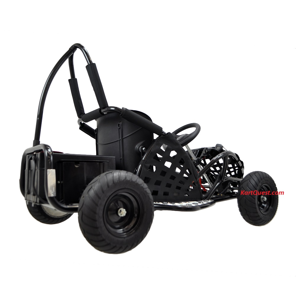 kicker electric go kart 1000 watts 48 volt speeds to. Black Bedroom Furniture Sets. Home Design Ideas