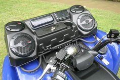 J STRONG Universal ATV Stereo Box - FREE SHIPPING - Kartquest.com