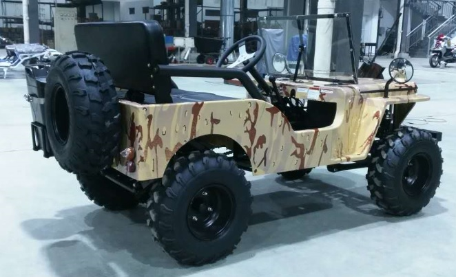 ice bear jeep go kart semi-automatic