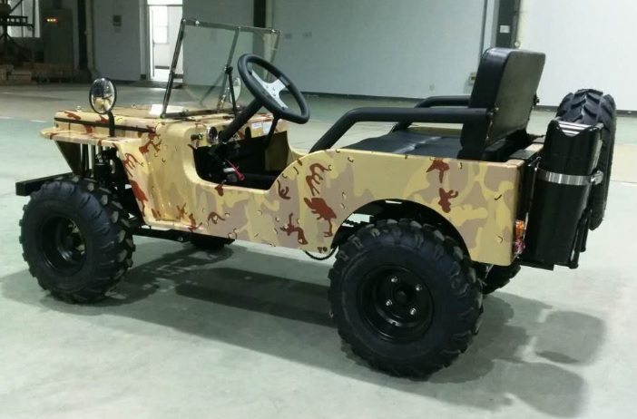 Ice Bear Jeep Go Kart Semi Automatic Www Kartquest Com